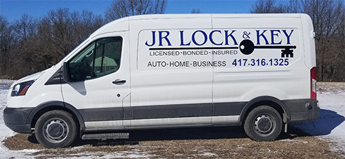 JR Lock & Key Locksmith service available, lockouts, lost keys. Serving Mt Vernon, Aurora, Monett, Miller and Southwest MO